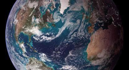 Blue Marble, 2007. Foto NASA/Wikimedia Commons.