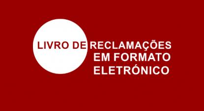 Logotipo do Livro de Reclamações Eletrónico. Fonte: INCM.