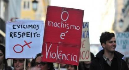 O machismo é violência. Foto de Paulete Matos.