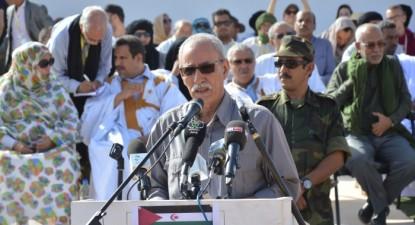 Brahim Ghali, Presidente da República e Secretário-Geral da Frente Polisário Foto: SPS