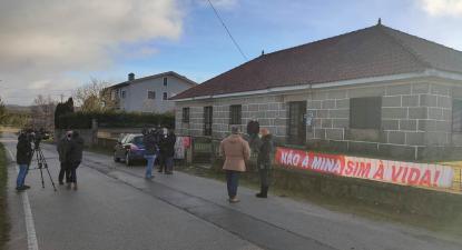 População de Morgade protesta contra mina de lítio