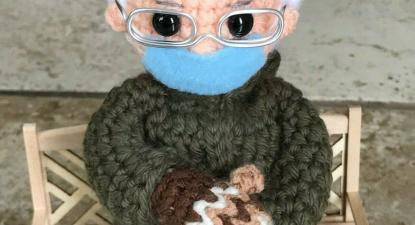 Bernie Sanders inspira um boneco