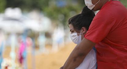 Manaus vive uma situação catastrófica devido à pandemia da covid-19