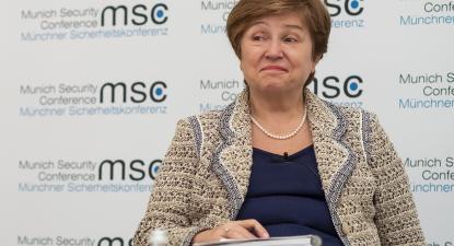 Kristalina Georgieva, atual dirigente do FMI e ex-CEO do Banco Mundial. Foto Preiss/ MSC/wikimedia commons.