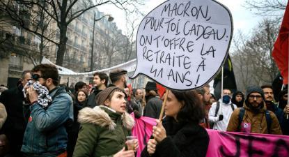manifestação Paris