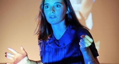 Sara Barros Leitão. Fotografia de Júlio Moreira