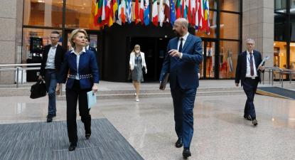 Foto: Ursula von der Leyen e Charles Michel. Foto: European Union