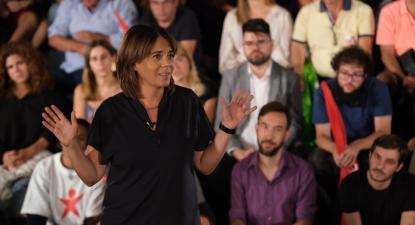 Catarina Martins, Teatro Capitólio, 19 de setembro de 2019. Foto: Paula Nunes.
