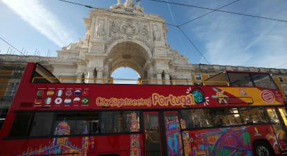 Citysightseeing. Foto de Manuel Almeida/Lusa.
