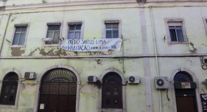 Prédio Santos Lima. Foto esquerda.net.