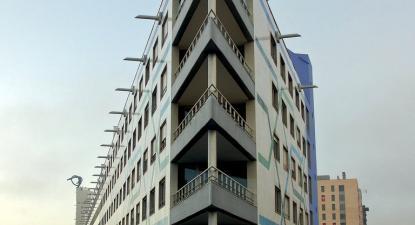 Edifício no Parque das Nações. Foto do Nuno Morão/Flickr.