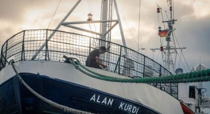 Navio Alan Kurdi. Foto sea-eye.org.