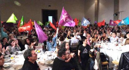 jantar de campanha na Alfândega do Porto