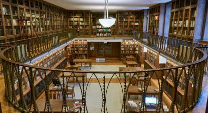 Biblioteca do Museu Nacional de Arte Antiga, foto do respetivo museu, retirada de museudearteantiga.pt