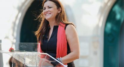 """Marisa Matias: """"Sou candidata para fazer a campanha contra o medo"""""""