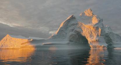 Derretimento das camadas de gelo. Foto de NASA Goddard Space Flight Center/Flickr.