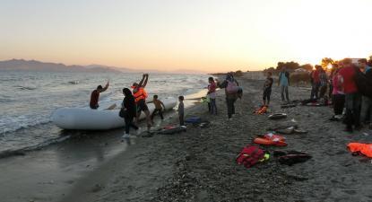Refugiados no Mediterrâneo