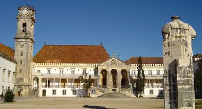 Paços da Universidade de Coimbra. Foto: Vitor Oliveira/Flickr, CC BY-SA 2.0.