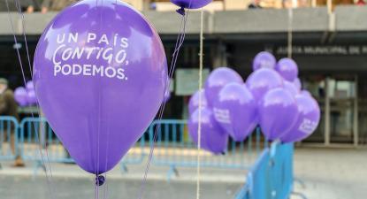 balão Podemos