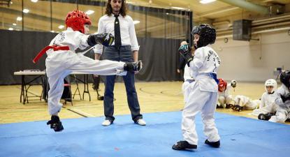 competição desportiva juvenil