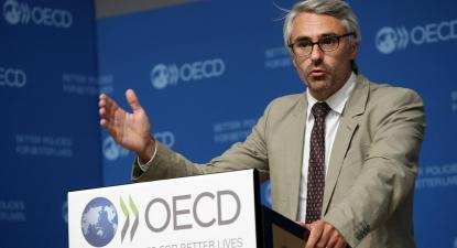 Pascal Saint-Amans, diretor do Centro para a Política Fiscal da OCDE. Foto: OECDtax/Flickr