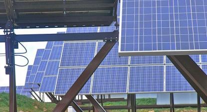 Central Fotovoltaica. Foto de Jordi Domènech i Arnau/Flickr.