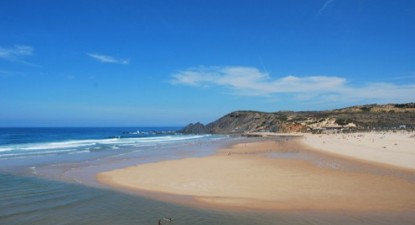 Praia da Amoreira, Aljezur. Foto de Tiago J. G. Fernandes/Flickr.