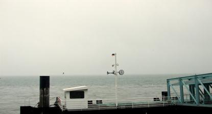Cais de embarque da Soflusa no Terreiro do Paço. 2013.