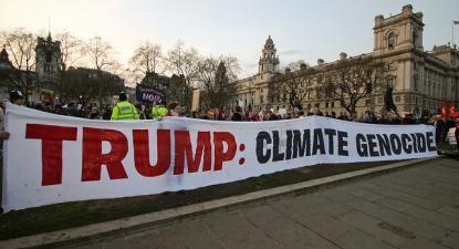 Trump genocida do clima – Foto Steve Eason/flickr