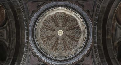 Capela do Palácio Nacional de Mafra.