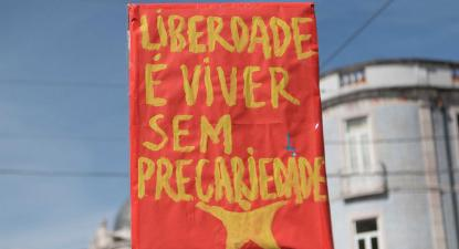 """""""Freedom is to live without precarity"""""""