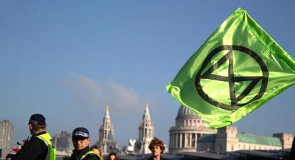 bandeira Extinction Rebellion