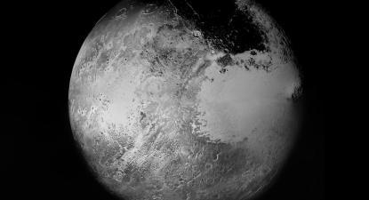 Plutão. Imagem construída a partir dos dados recolhidos pela New Horizon. Foto de sparxastronomy/Flickr.
