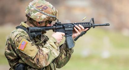 Treino na Academia Militar de West Point