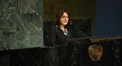 Dubravka Šimonović nas Nações Unidas em 2019. Foto de UN Women/Flickr.