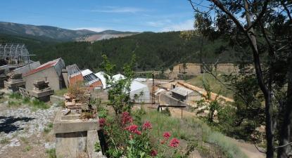 Minas da Panasqueira. Foto de Paula Nunes.