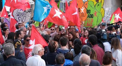 """O Bloco de Esquerda é o único partido parlamentar numa """"situação de contas prestadas sem irregularidades"""" - Foto de Paula Nunes"""