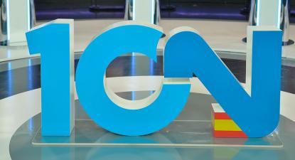 Cenário do debate eleitoral televisivo em Espanha. Novembro de 2019.