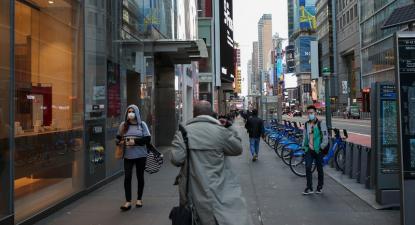 Nova Iorque em quarentena. Foto: silvia chandra/Flickr