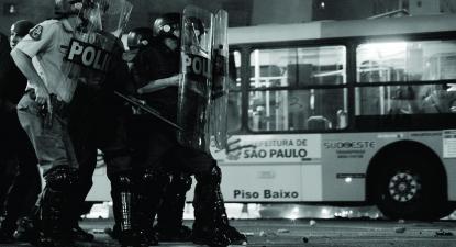 """Imagem do filme """"Operações de Garantia da Lei e da Ordem"""", de Júlia Murat, da secção Cinema de Urgência"""