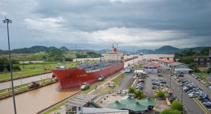 Canal do Panamá ameaçado pelas alterações climáticas