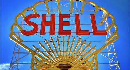 Logotipo da Shell. Foto de Robert Laliberte/Flickr.