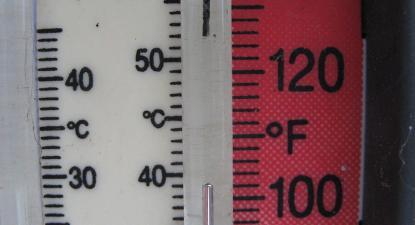 Termometro. Foto de Stuart Rankin/Flickr.