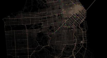 Dados de tráfego de São Francisco.