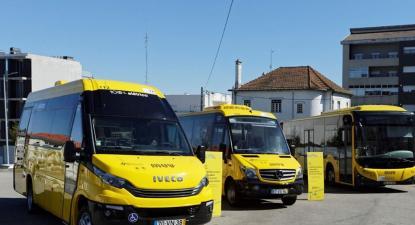 Autocarros da MUV. Fonte facebook da empresa.