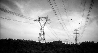 Torres elétricas. Foto de Tiago E. Pereira/Flickr.