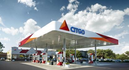 A Citgo é uma empresa venezuelana que opera nos EUA, estação de serviço em Chicago - Foto wikipedia