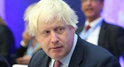 Boris Johnson, primeiro-ministro britânico. Foto wikimedia.