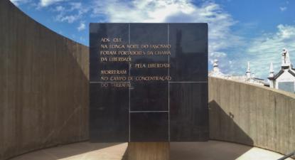Jazigo dos mortos no Campo de Concentração do Tarrafal, Cemitério do Alto de São João