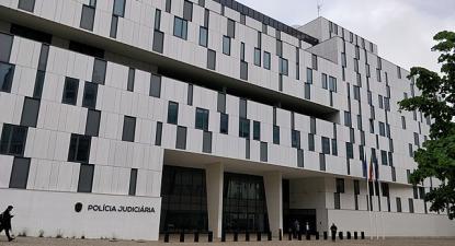 Edifício da Polícia Judiciária em Lisboa.